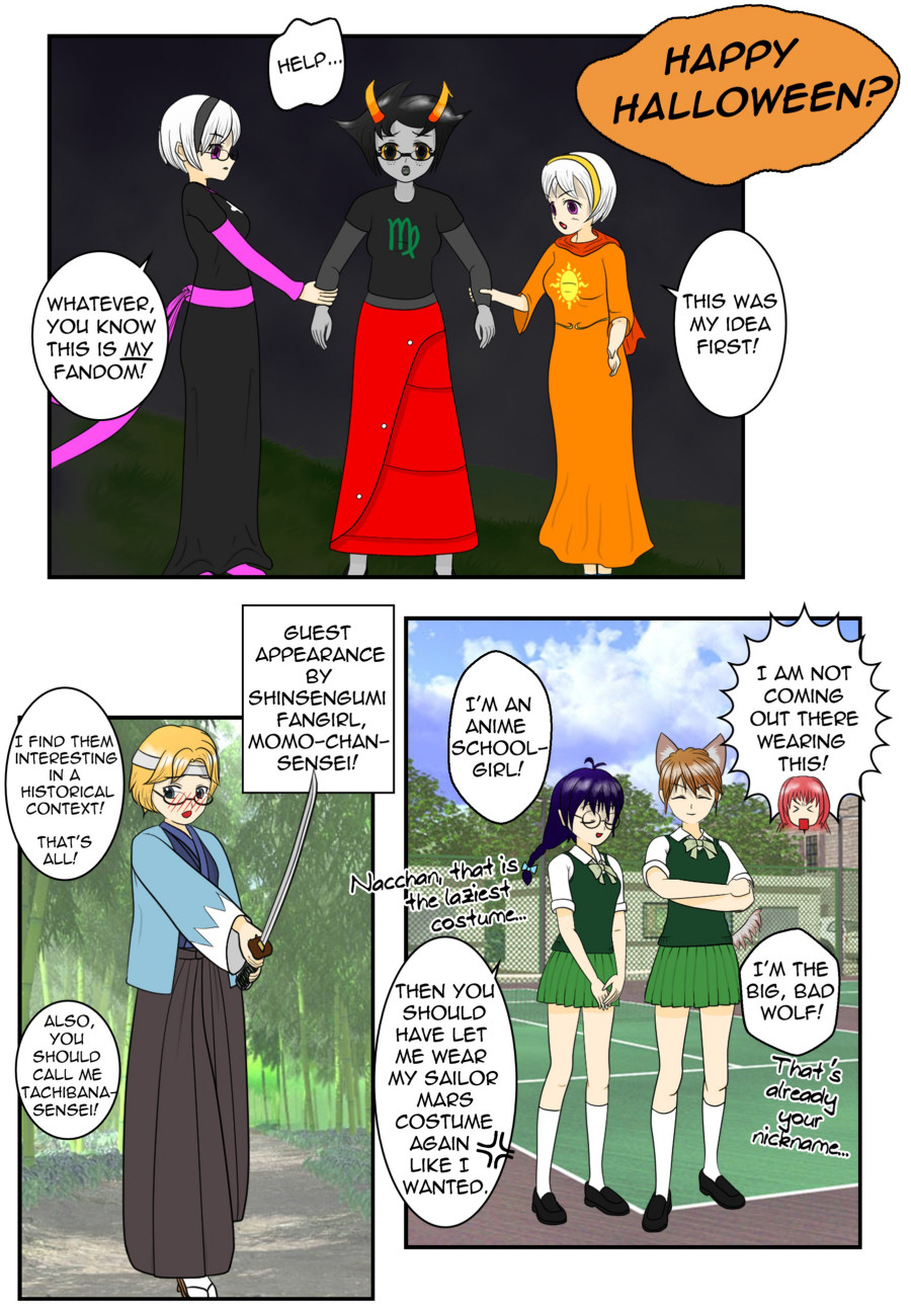 Chapter 5, Halloween Omake